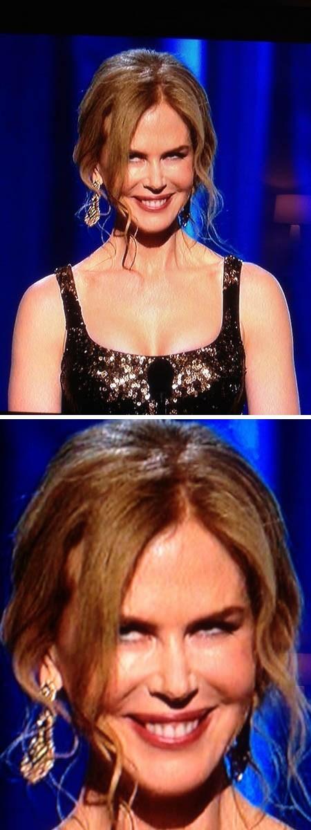 creepy Nicole Kidman academy awards oscars - 7091763968
