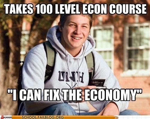 idiots,college,economy