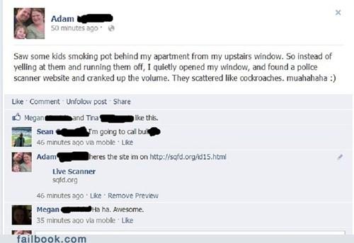 kids trolling smoking weed police - 7092962048