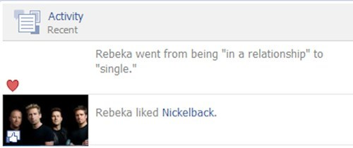 nickelback,relationships,facebook status