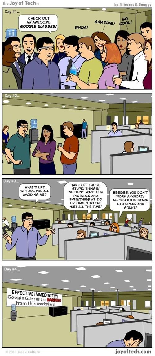 comics Office google glasses - 7093318912