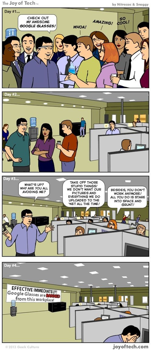 comics google glasses joy of tech google - 7093333248