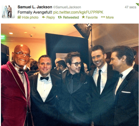 robert downey jr,The Avengers,Samuel L Jackson,academy awards,oscars