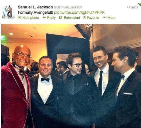 robert downey jr The Avengers Samuel L Jackson academy awards oscars - 7093419776