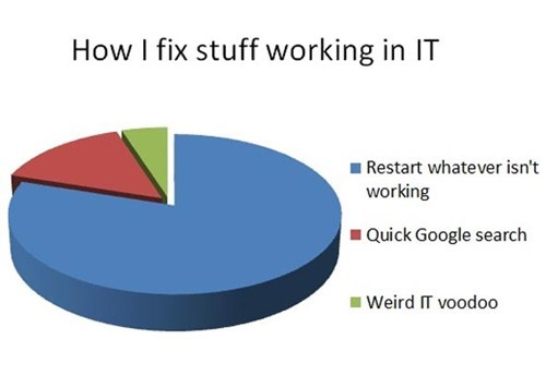 pie charts,it,voodoo,monday thru friday,g rated