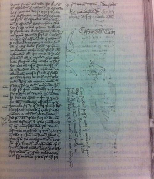 history Cats midieval manuscript - 7093507584