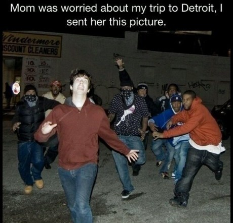 motherson scaring your parents detroit gangs g rated Parenting FAILS