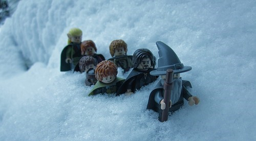 Lord of the Rings lego - 7093584384