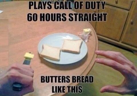 call of duty IRL bread - 7093639936