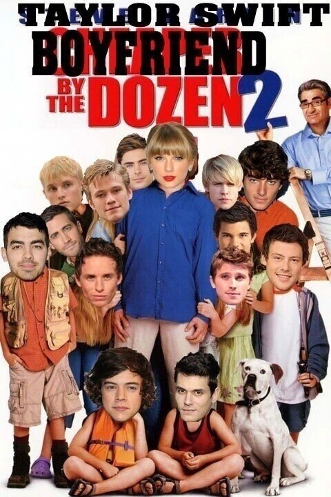 taylor swift,cheaper by the dozen