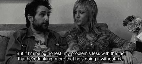 honest its-always-sunny problem alone