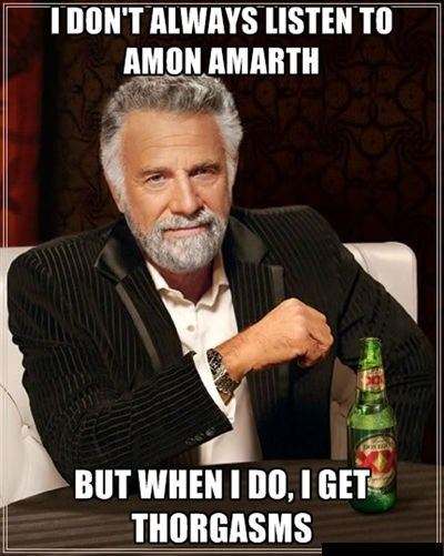 amon amarth heavy metal most interesting man - 7093699072
