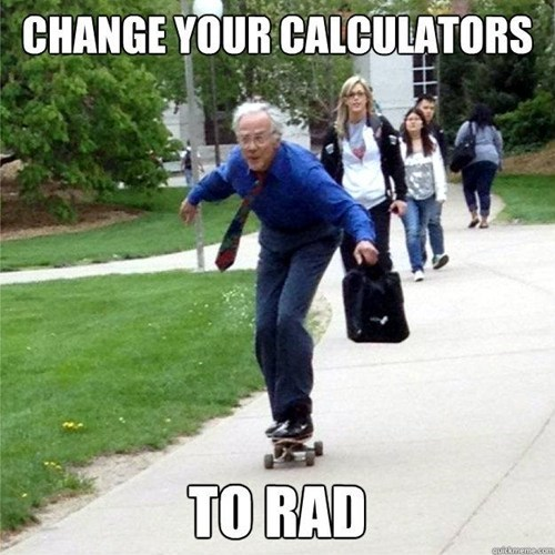 professor skateboard math rad