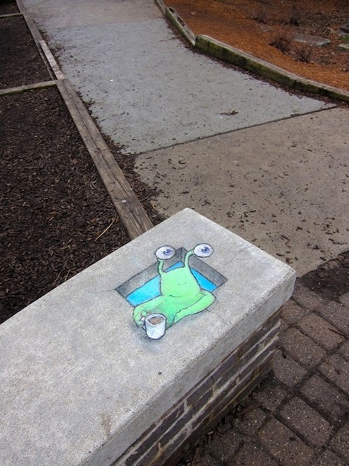 Street Art cute hacked irl - 7093895424