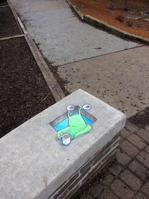 Street Art cute hacked irl - 7093895424