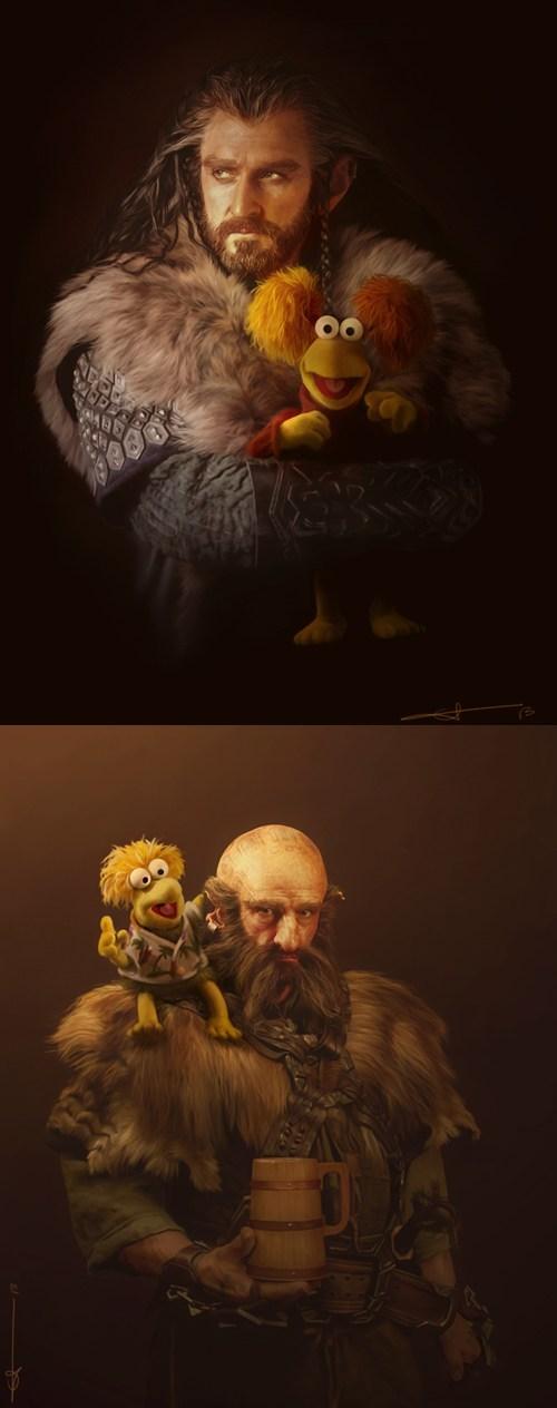 Fan Art The Hobbit thorin oakenshield - 7093957632