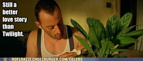 plants,jean reno,leon the professional,still a better love story than twilight