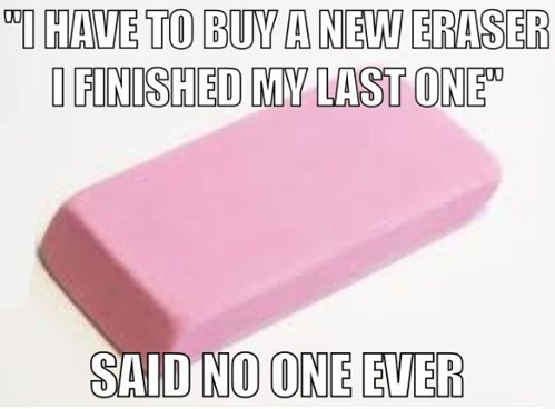 said no one ever eraser truancy story - 7094241792
