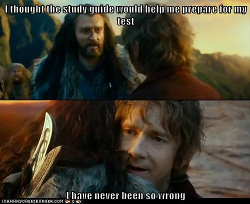 study guide Sudden Change of Heart Thorin truancy story