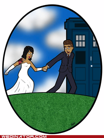 art save the date tardis doctor who - 7094719744