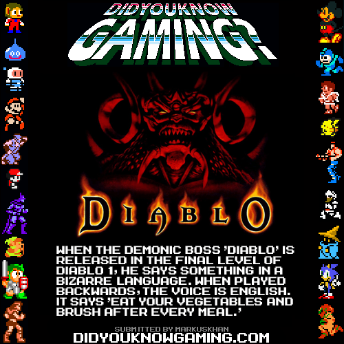 did you know gaming,PC,diablo