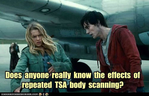 Julie scanning warm bodies r teresa palmer effects nicholas hoult zombie TSA - 7094938880