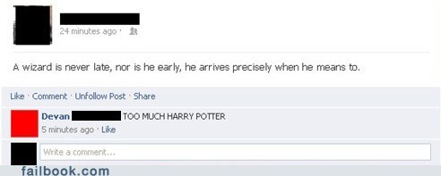 Harry Potter,Lord of the Rings,gandalf,wizards,failbook,g rated