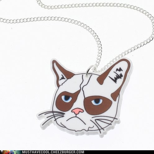 pendants necklaces Grumpy Cat Jewelry - 7095415040