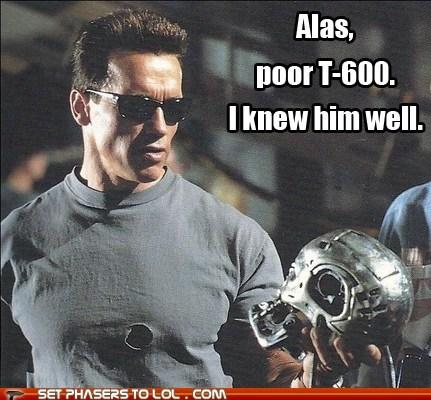 The Terminator skull Arnold Schwarzenegger hamlet - 7096400640