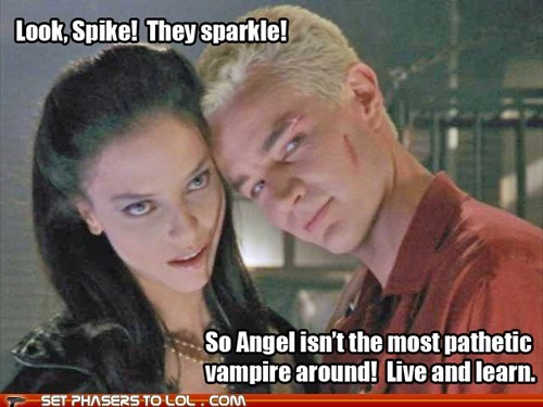 spike drusilla sparkling vampires james marsters juliet landau Buffy the Vampire Slayer pathetic - 7096422144