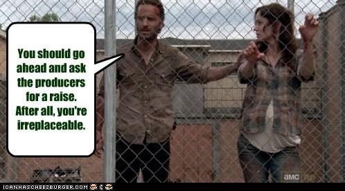 Rick Grimes Andrew Lincoln sarah wayne callies lori grimes The Walking Dead - 7096546816
