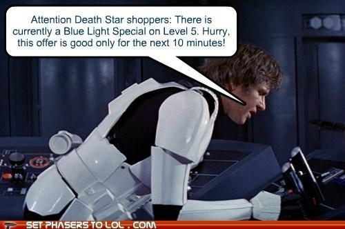 star wars shopping sale Death Star Han Solo Harrison Ford - 7096695296