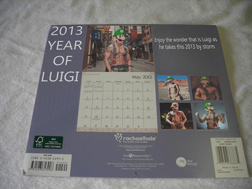 calendar luigi mario nintendo - 7096799488