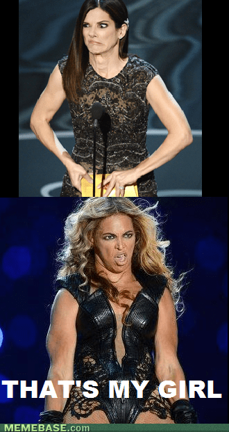 Sandra Bullock unflattering beyonce celeb - 7096960768