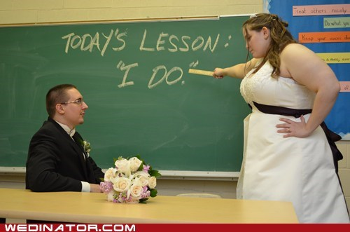 I Do teacher blackboard