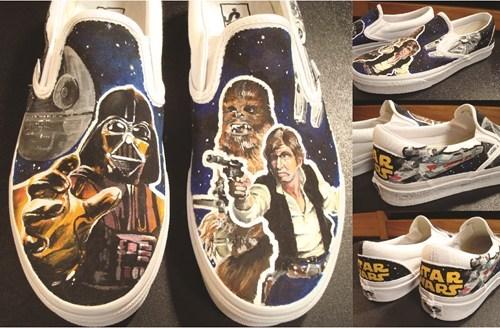 shoes star wars Fan Art DIY - 7097253888