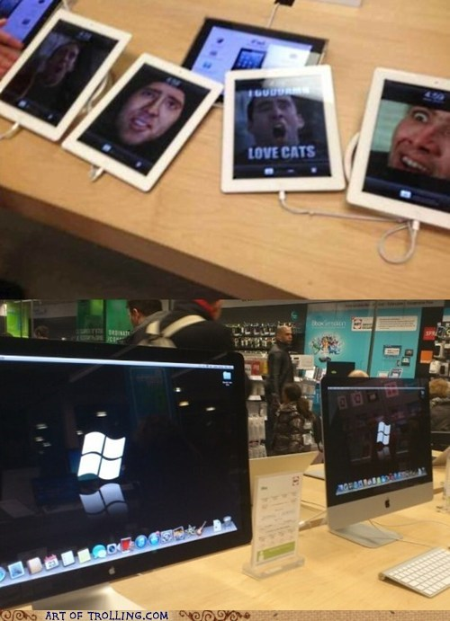 apple store windows nic cage - 7098878976