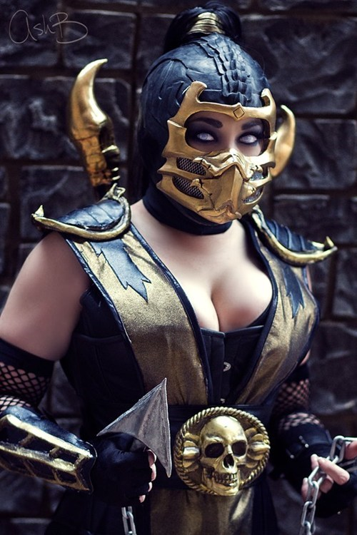 cosplay,Mortal Kombat,video games,scorpion