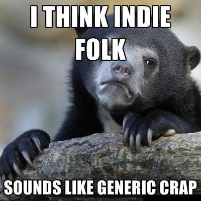 folk music,indie rock,Confession Bear
