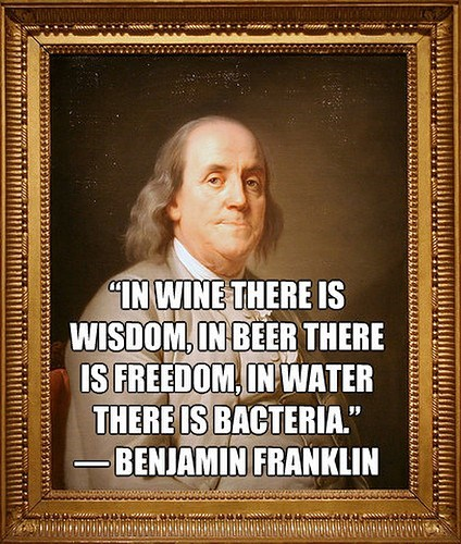 beer Wasted Wisdom wine ben franklin after 12 g rated - 7099635712