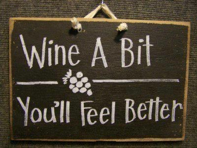 signs,feel better,wine