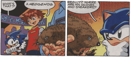 Sonic X comics hedgehogs sonic - 7099757824