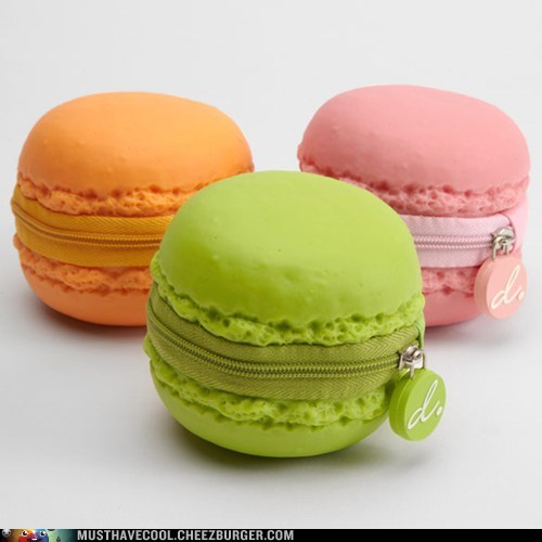 zippers macarons coin purses - 7100723968