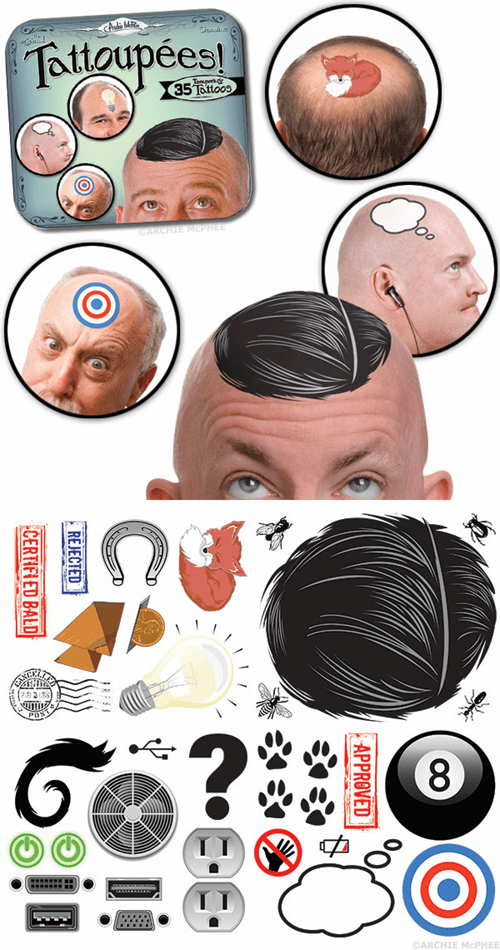 baldness tattoos toupees poorly dressed g rated - 7101103104