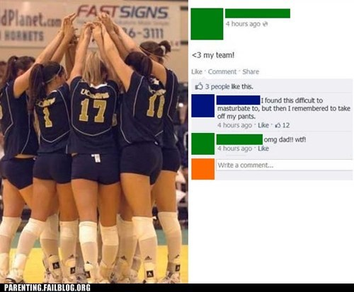 dads,facebook,volley ball