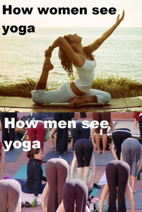 butts,men vs women,yoga,yoga pants