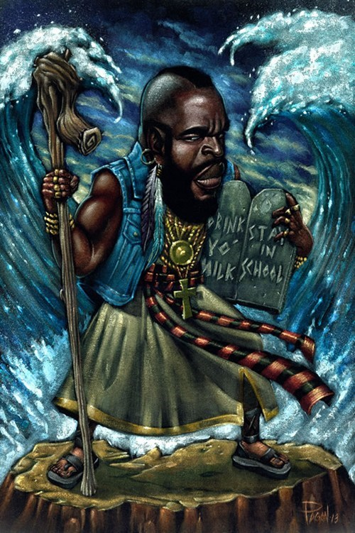 commandments art awesome mr t