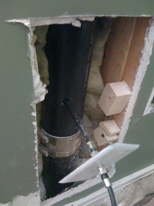 comcast broken wall cable installation g rated there I fixed it - 7101298688
