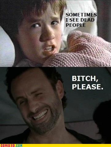 the sixth sense movies TV The Walking Dead