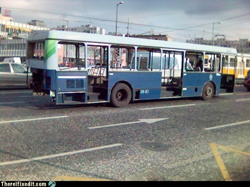 Mad Max public transporation metro bus bus